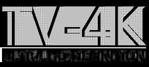 Tv 4K logo