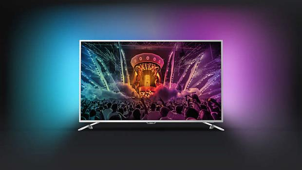 Philips serie 6520 tv 4k android ultra sottile